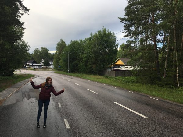 Arriving in Dalarö and seeing Tua-Tua for the first time