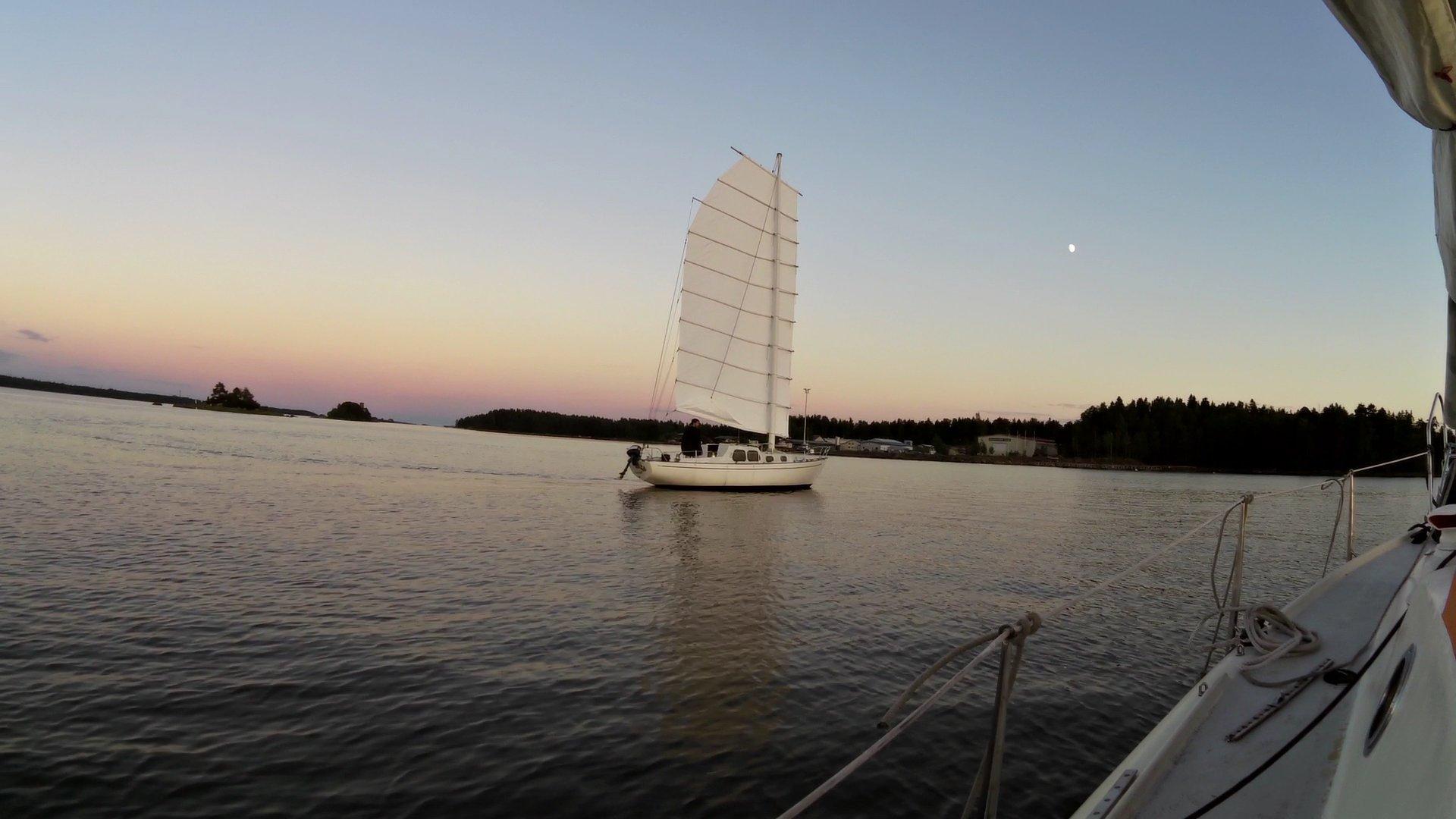 First sea trials