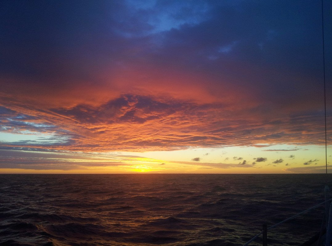 Sunrise in the Finnish Gulf